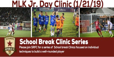 Sacramento Republic FC School Break Clinic Series: MLK Jr. Skills Camp (1 of 3)