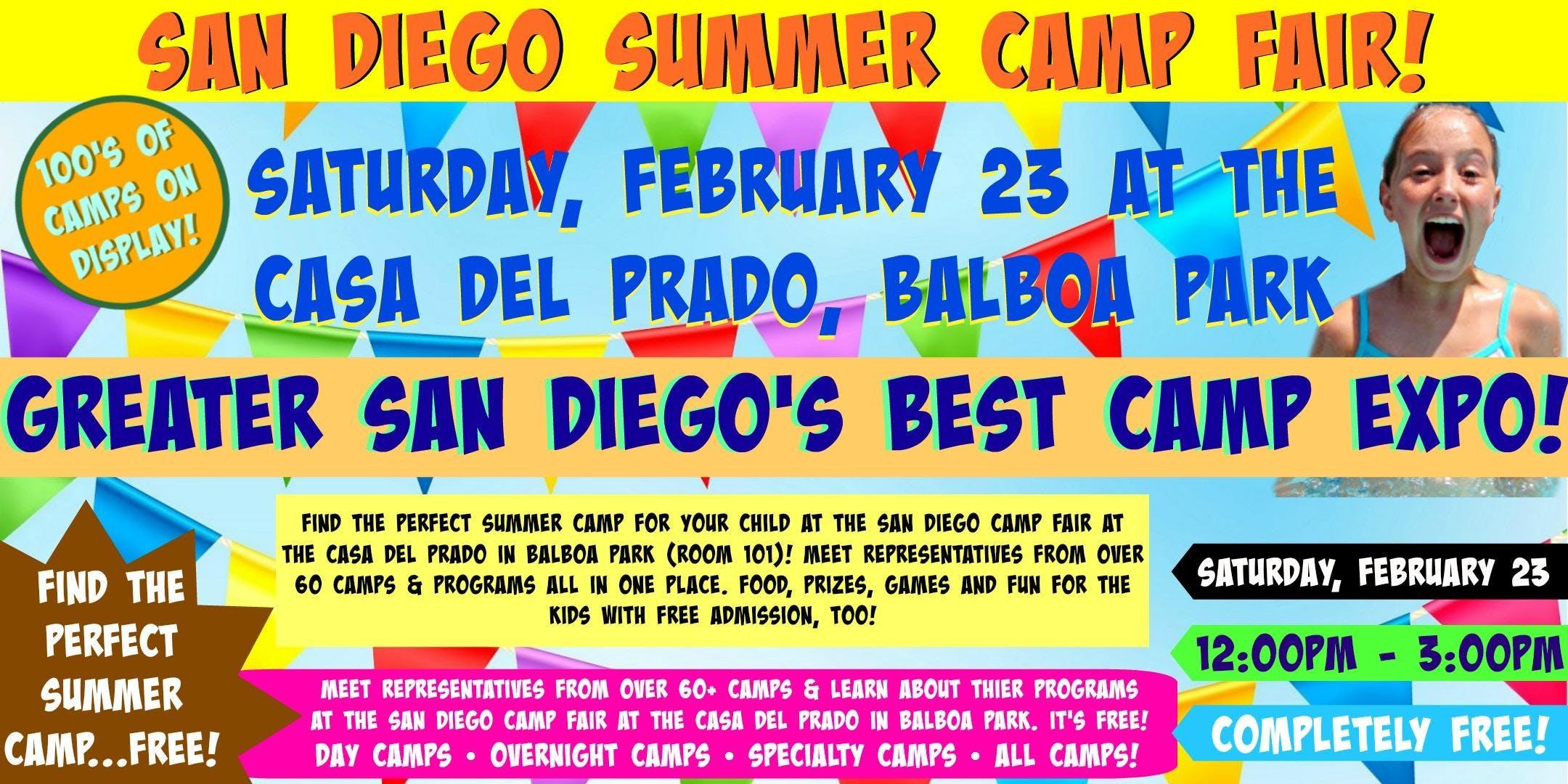 San Diego Camp Fair at Balboa Park