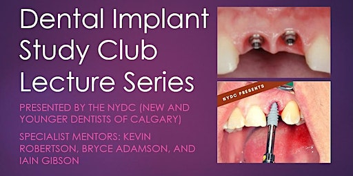 NYDC presents: Dental implant study club (season 2)