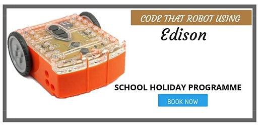 Code That Robot Using Edison - SCRATCHPAD Holiday Programmes