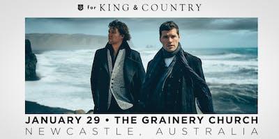 for KING & COUNTRY | burn the ships | world tour 2019 | Newcastle, Australia