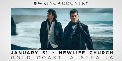 for KING & COUNTRY   burn the ships   world tour 2019   Gold Coast, Australia