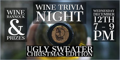 Wine Trivia Night: Ugly Sweater Christmas Edition