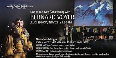 An Evening with /Une soirée avec Bernard Voyer -bilingual Ciné-Concert