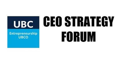 e@UBCO Presents: CEO Strategy Forum