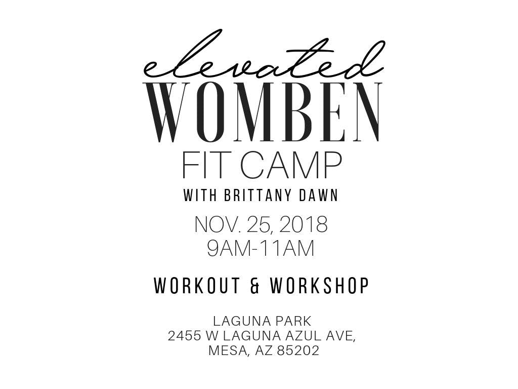 Elevated Womben Fit Camp
