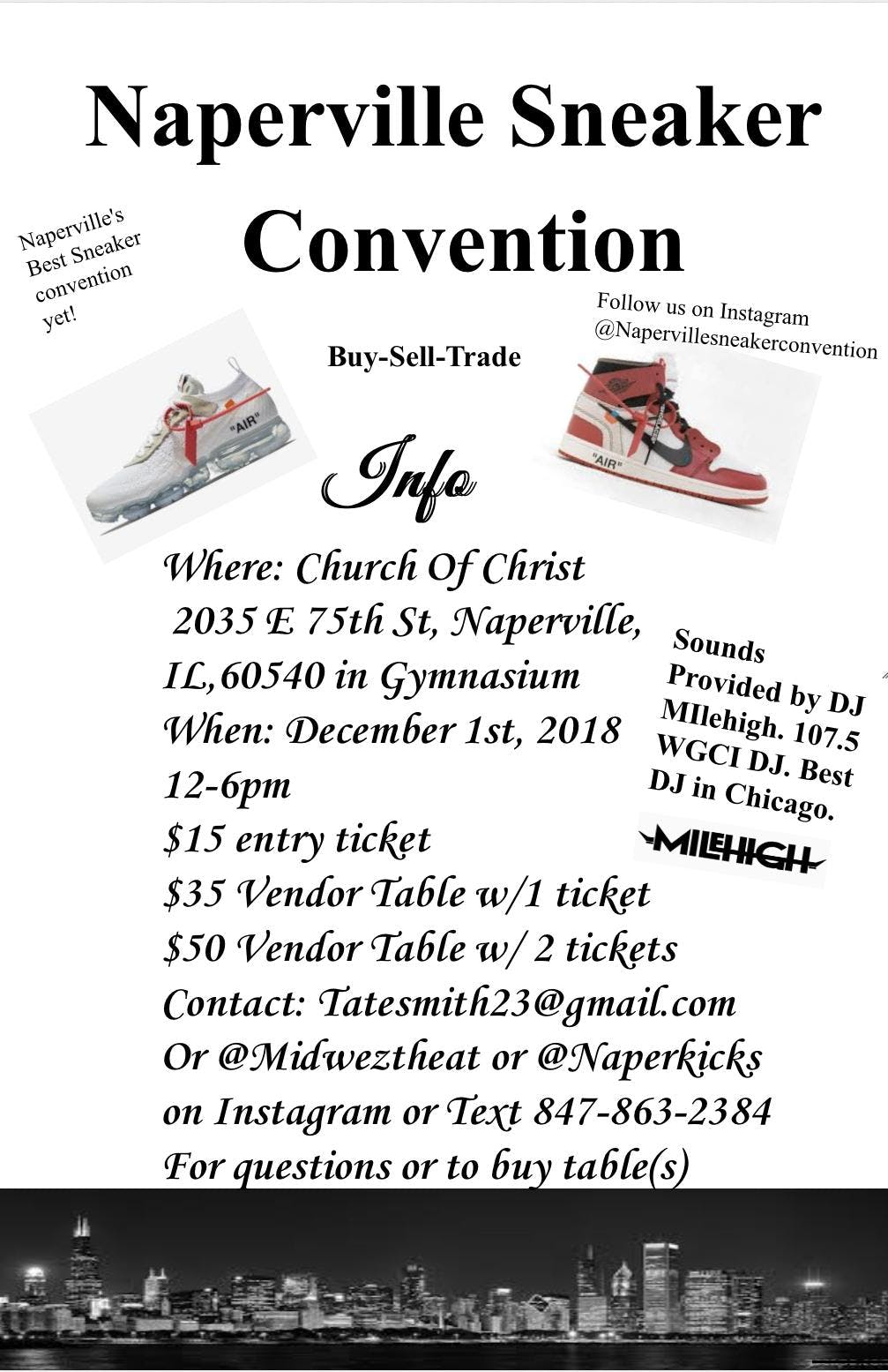 Naperville Sneaker Convention
