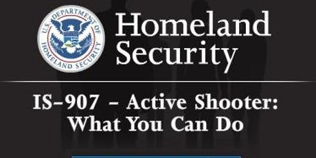 ACTIVE SHOOTER TRAINING   www.idpservices.net tickets