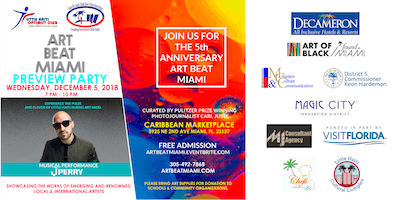 ART BEAT MIAMI Preview Party during Art Basel/Miami Art Week