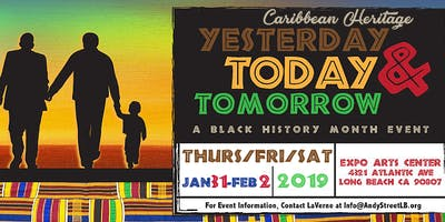 Caribbean Heritage: Yesterday, Today & Tomorrow - A Black History Month Event