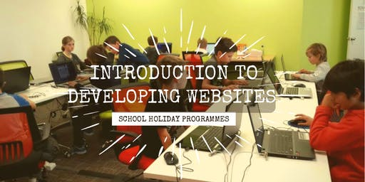 Introduction to Developing Websites: SCRATCHPAD Holiday Programme