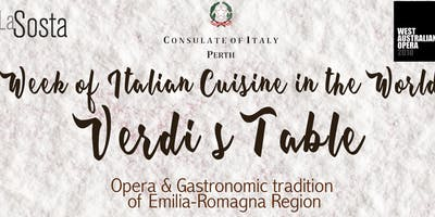 The Week of Italian Cuisine in the World