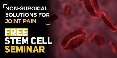 FREE Regenerative Stem Cell Seminar for Pain Relief - Grove City, PA 11/28