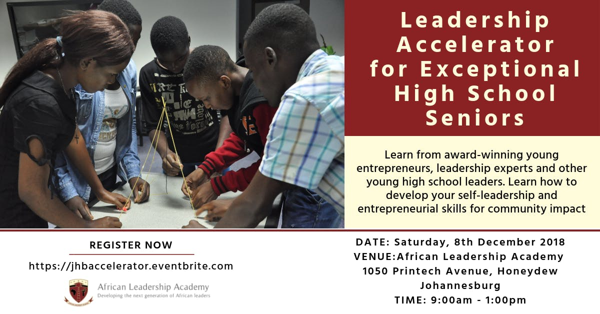 Leadership Accelerator for Exceptional High S