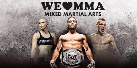 We love MMA •50• 19.10.19 Barclaycard Arena Hamburg Tickets
