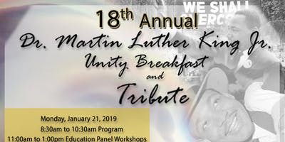 18th Annual Dr. Martin Luther King Jr. Unity Breakfast and Tribute