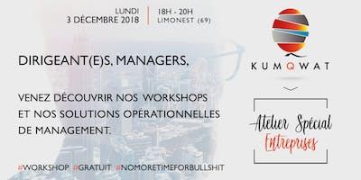 Workshop Kumqwat | Atelier Spécial Entreprises