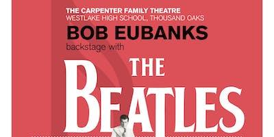 Bob Eubanks backstage with The Beatles - Friday