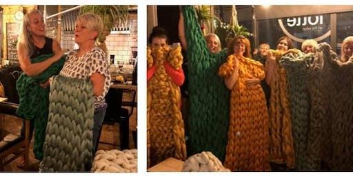 Arm Knit Blanket Workshop - Sheffield