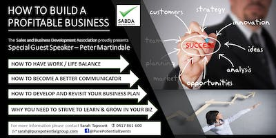 "Business Networking Event ""Building a Profitable Business\"""