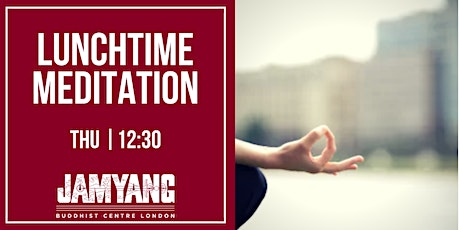 Lunchtime Meditation tickets