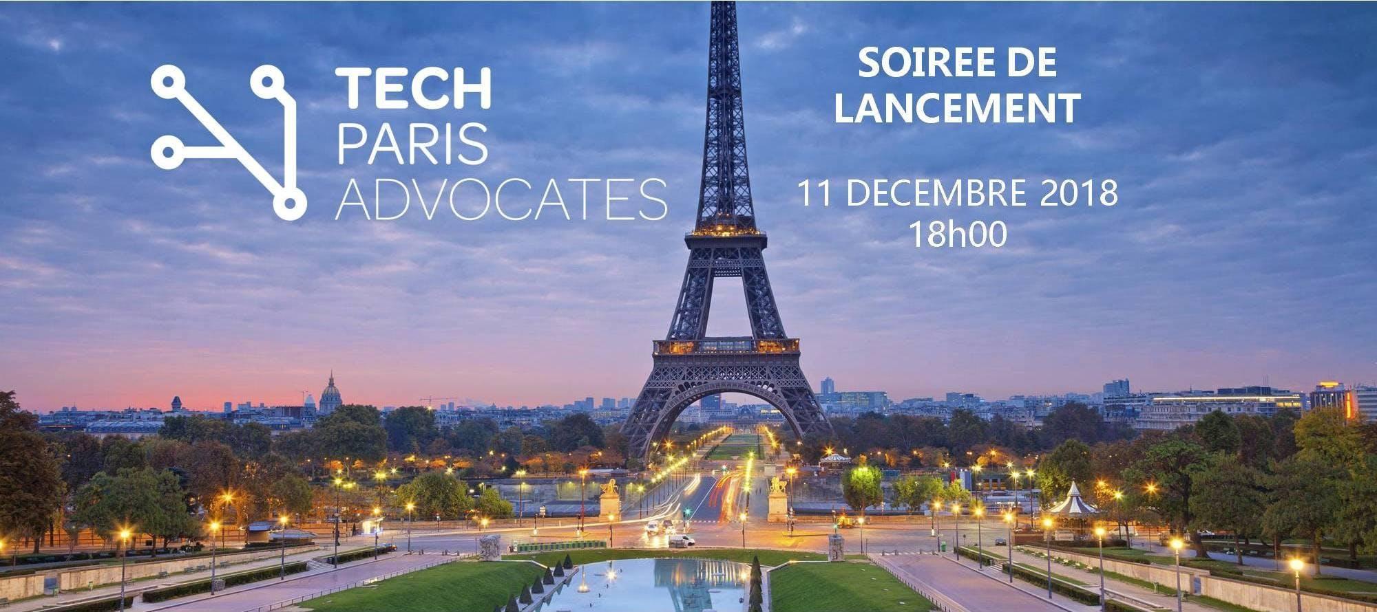 Tech Paris Advocates - Soirée de Lancement