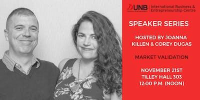 Speaker Series - Joanna Killen & Corey Dugas