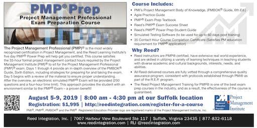 PMP Power Prep - August 5-9, 2019 - Suffolk, VA