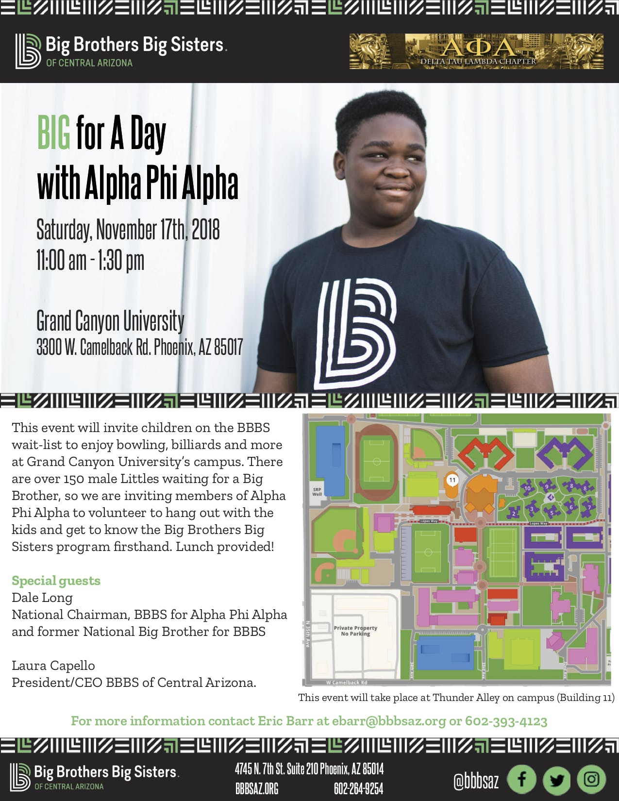 Big for a Day w/Alpha Phi Alpha Fraternity, Inc.