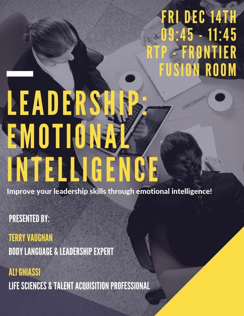 Leadership: Emotional Intelligence