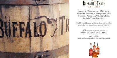 Buffalo Trace Whiskey Dinner