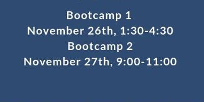 Bootcamp 1 & 2