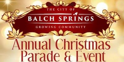 City of Balch Springs Christmas Parade & Event
