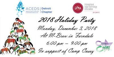 2018 ACEDS Detroit / ILTA Holiday Party