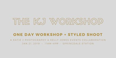 The KJ One Day Workshop + Styled Shoot