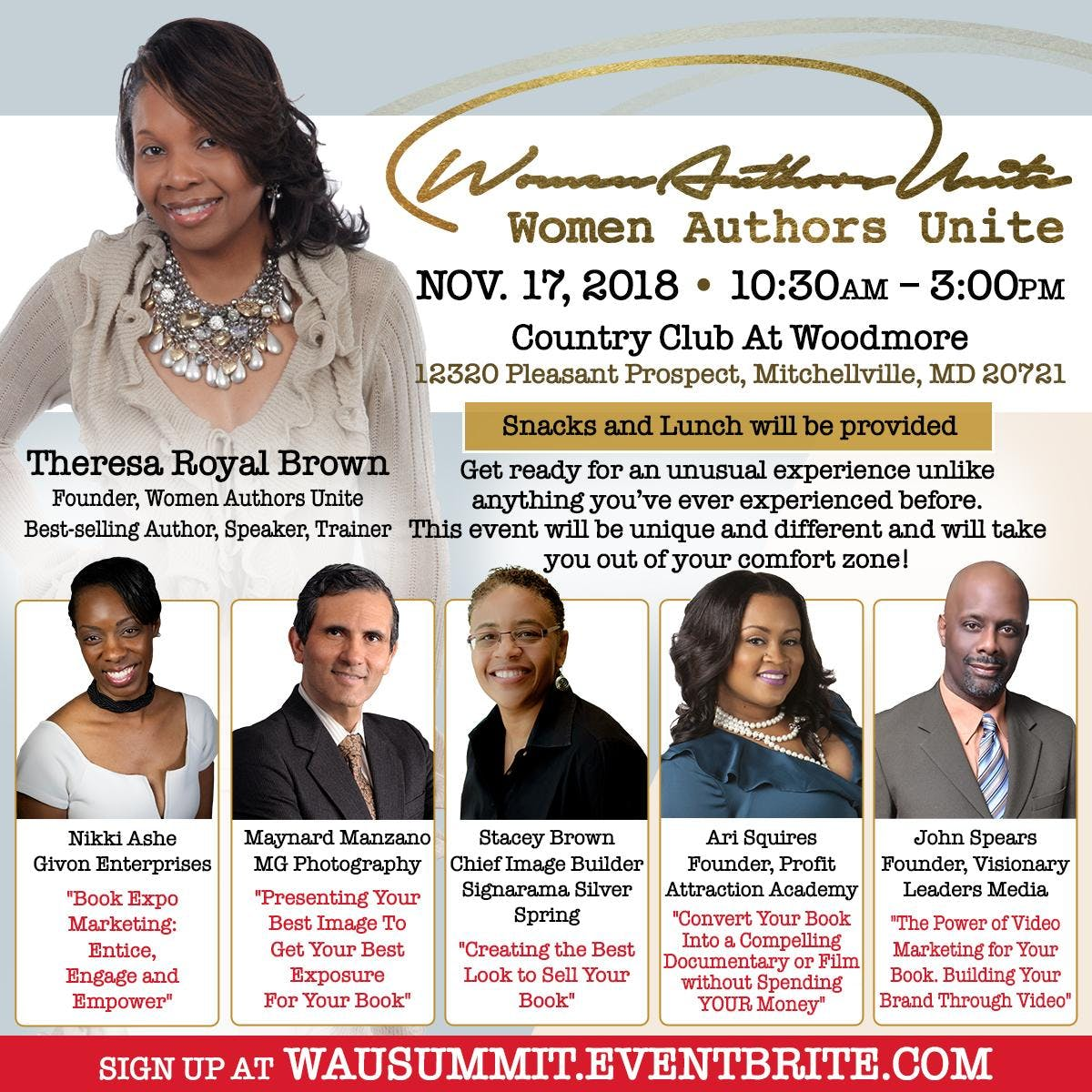 Women Authors Unite Summit