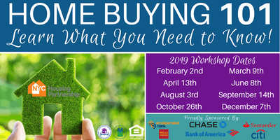 Housing Partnership Homebuyer Education Class 2019