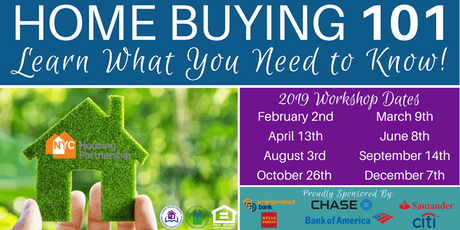 Housing Partnership Homebuyer Education Class 2019 tickets