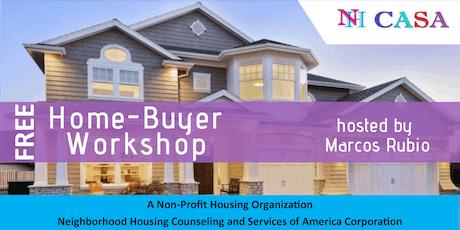 Nh CASA - Home Buyer Workshop - Recurring tickets
