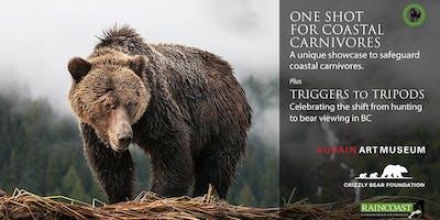 Coastal Carnivores conservation photography exhibit