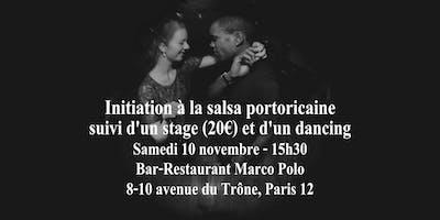 Initiation à la danse salsa portoricaine à Nation