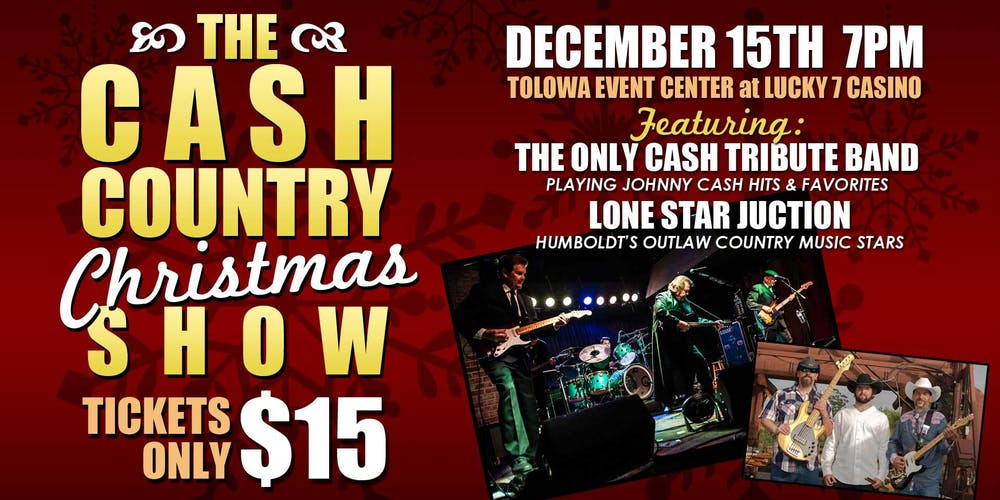 The Cash Country Christmas Show Tickets, Sat, Dec 15, 2018 at 7:00 ...