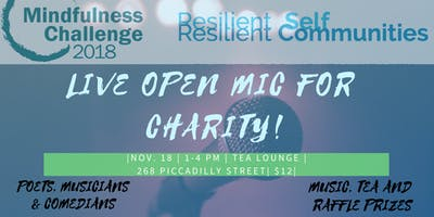 Live Open Mic For Charity