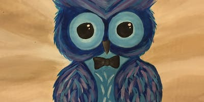 Adorable Owl Paint Night Party in DELTA ( FREE DRINK INCLUDED)