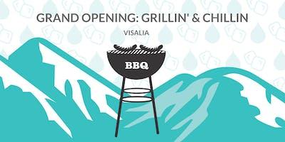 Aqua Stop Grand Opening - Grillin\
