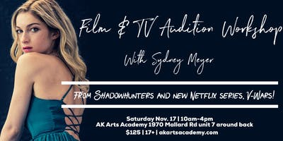 Film and TV Audition Workshop with Sydney Meyer