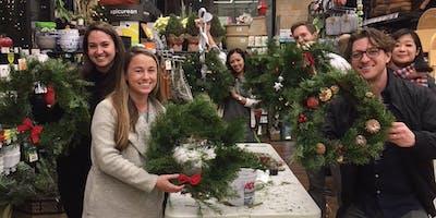 Christmas Wreath Workshop: Russian Hill