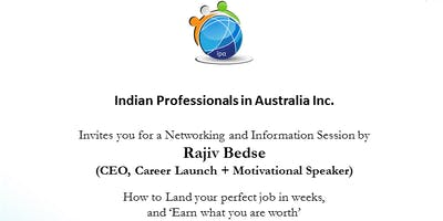 IPA Presents - How to reach your Perfect Job, Rajiv Bedse CEO & Motivational Speaker(Career Launch)
