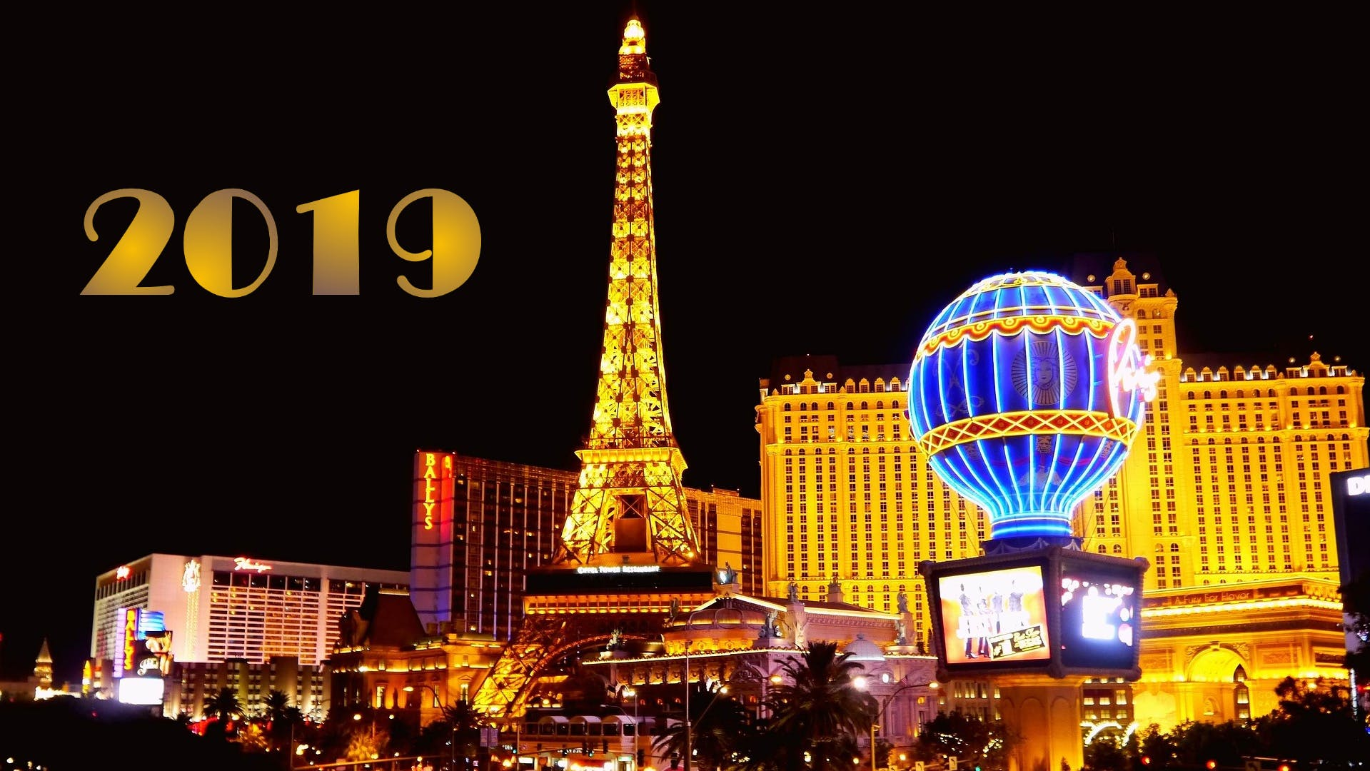 1st Las Vegas Strip Car Cruise of 2019