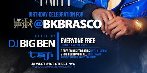 Sat 11 10 BkBrasco Of LHHATL Celebrity Birthday Bash At TaJ NYC